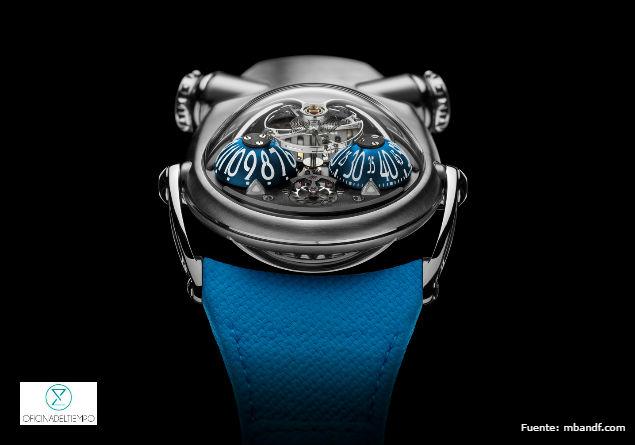 El diseño del nuevo reloj de MB&F está inspirado en la raza de caninos bulldog.