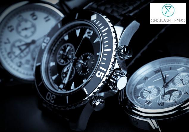 Relojes blanco y negro