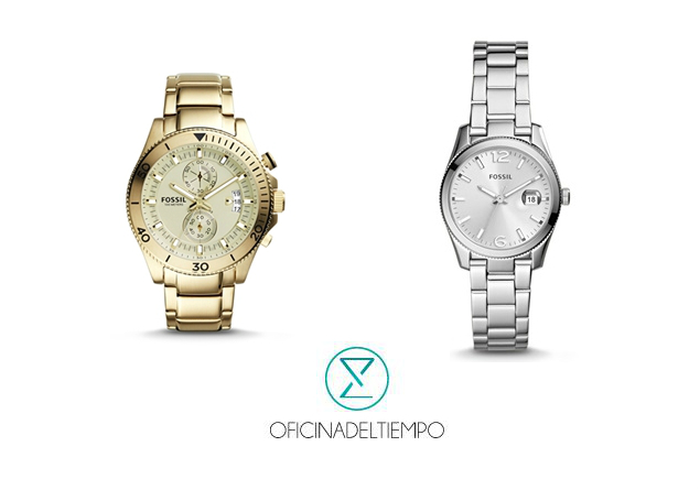 Relojes fossil metálicos