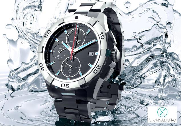 Un reloj resisten al agua no puede sumergirse, solamente resiste lluvia o salpicaduras.
