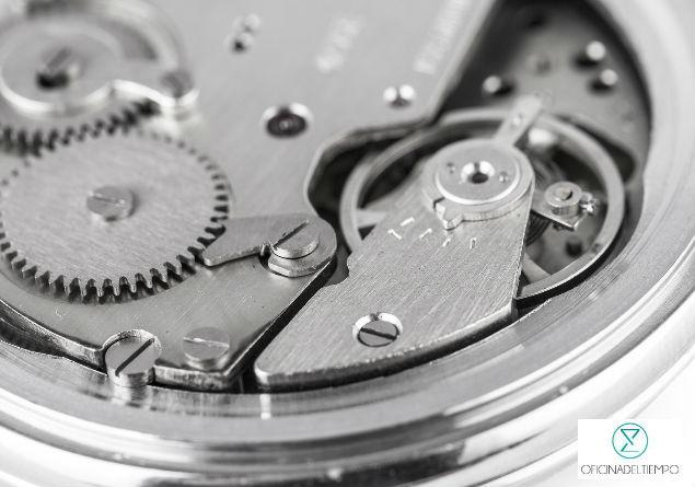Mecanismo interno de reloj