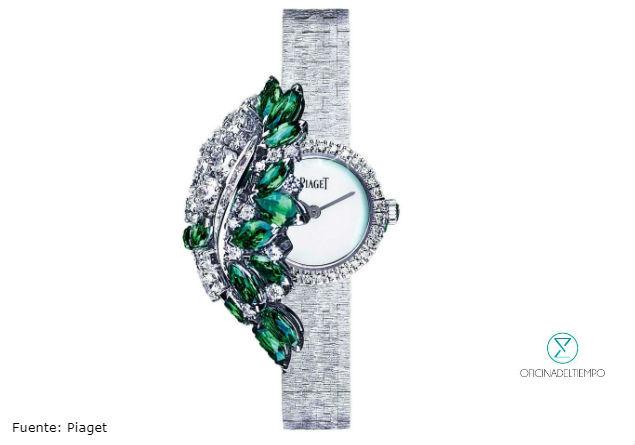 Reloj pulsera oculto con joyería