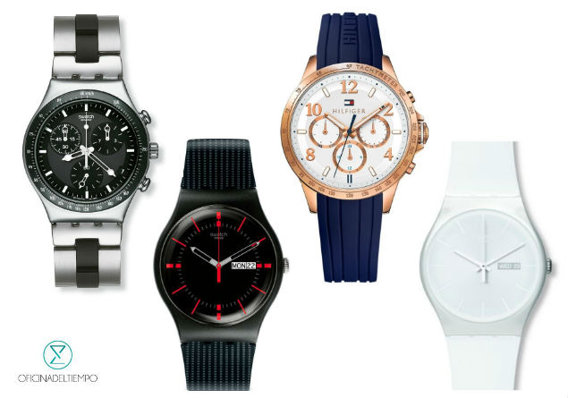 Relojes diferentes para amor y amistad