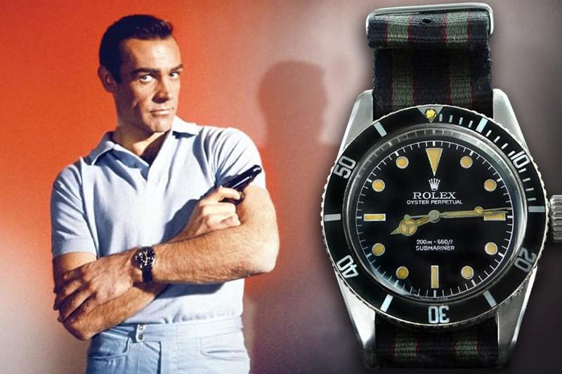 Rolex Submariner 6538 de Sean Connery en Dr. No